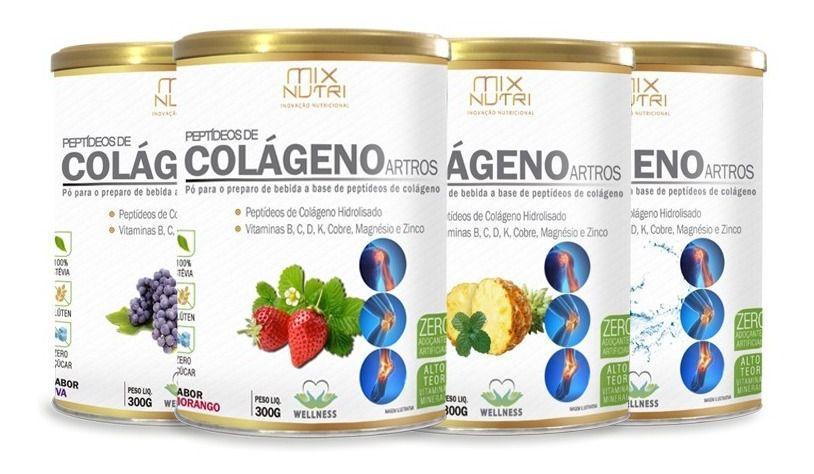 COLÁGENO ARTROS MIX NUTRI 300G