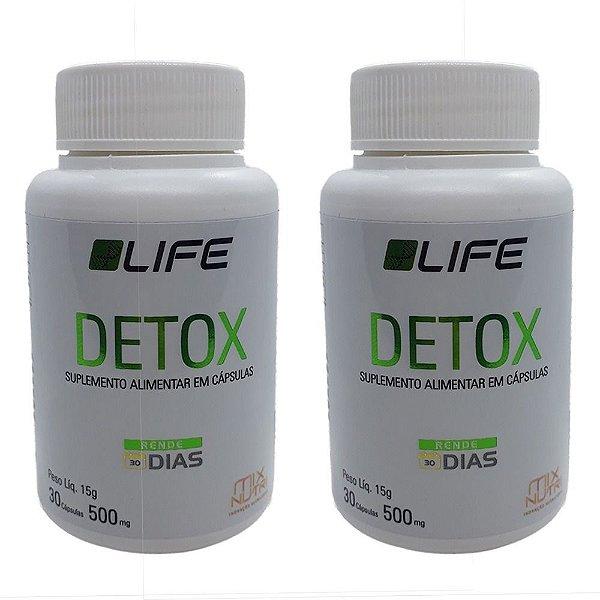DETOX LIFE MIX NUTRI 30 CAPSULAS