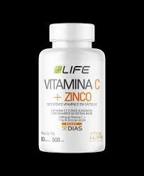 VITAMINA C + ZINCO LIFE MIX NUTRI 60 CAPSULAS