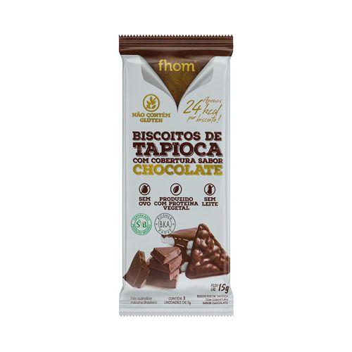 BISCOITO DE TAPIOCA DE CHOCOLATE FHOM 30G