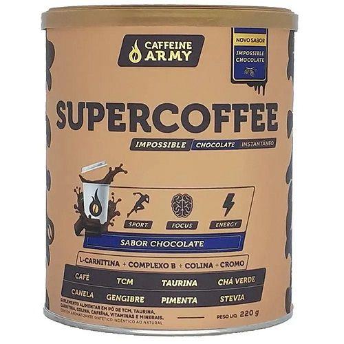 SUPERCOFFE SABORES COFFEINE ARMY 220G