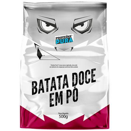 BATATA DOCE EM PÓ PROTEINA PURA 500G