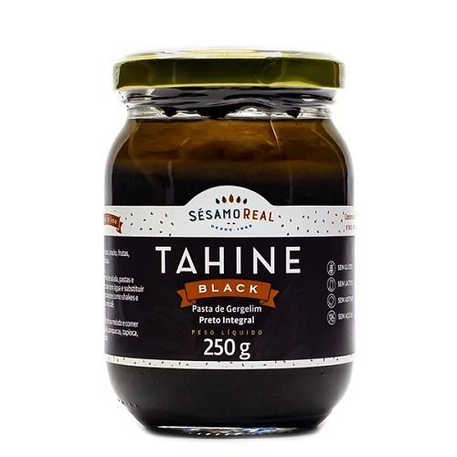 TAHINE BLACK SEASAMO REAL 250G