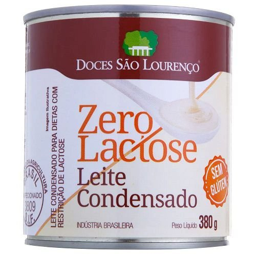 LEITE CONDENSADO ZERO LACTOSE SAO LOURENÇO 380G