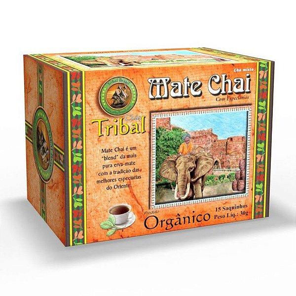 CHA MATE CHAI COM ESPECIARIAS ORGANICO TRIBAL 15 SACHES