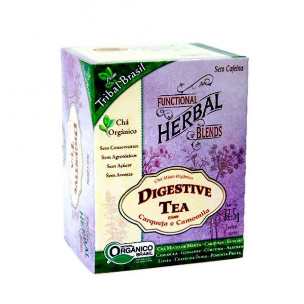 CHA MISTO DIGETIVE TEA TRIBAL 15 SACHES