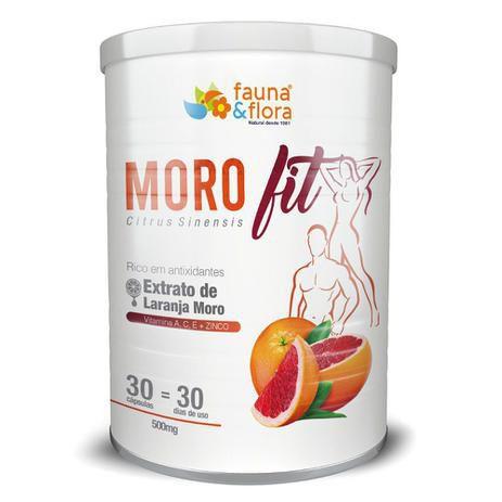 MOROFIT EXTRATO DE LARANJA MORO FAUNA E FLORA 30 CAPSULAS