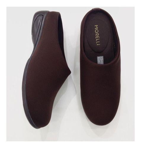 Sapato Feminino Conforto Ortopédico Mule Neoprene 61154
