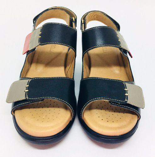Sandálias Feminanas Couro Legítimo Confortável 80737/80818