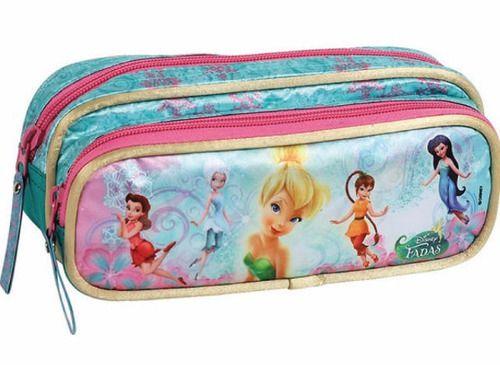 Estojo Escolar Infantil Disney Dermiwil Fadas 50997