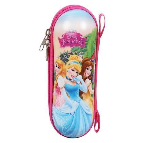 Estojo Escolar Infantil Princesas Dermiwil Rosa 60410
