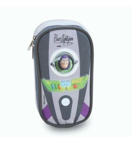 Estojo Escolar Infantil Grande Buzz Lightyear 50478