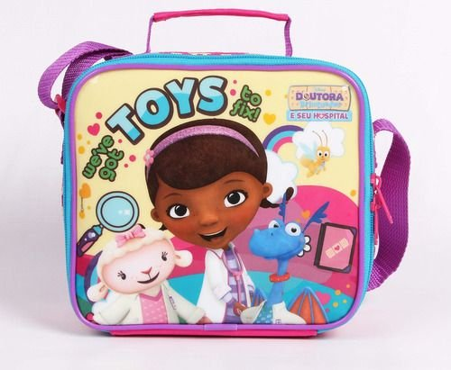 Lancheira Infantil Escolar Doutora Brinquedos Dermiwil 51942