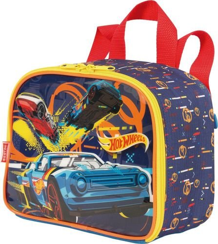 Lancheira Infantil Hot Wheels Sestini Pequena 065237-00