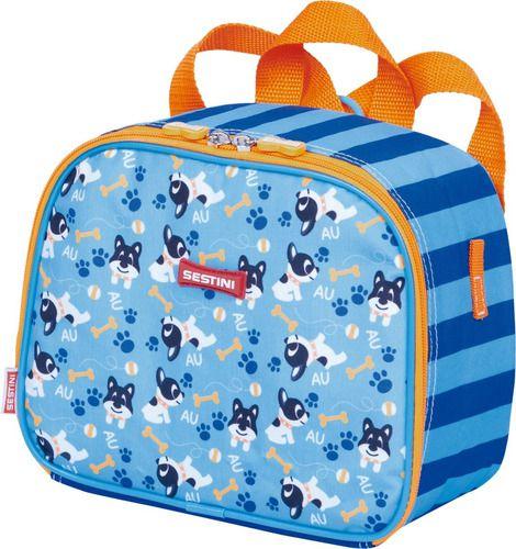 Lancheira Infantil Pequena 2 Em 1 Sestini Kids Dog 065155-00