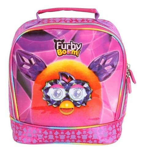 Lancheira Infantil Furby Boom Dermiwil Rosa Sucesso 60238