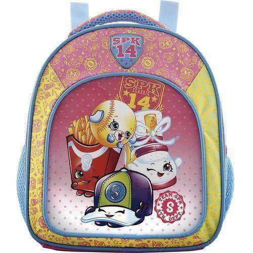 Lancheira Infantal Escolar Shopkins Xeryus Rosa Grande 6824