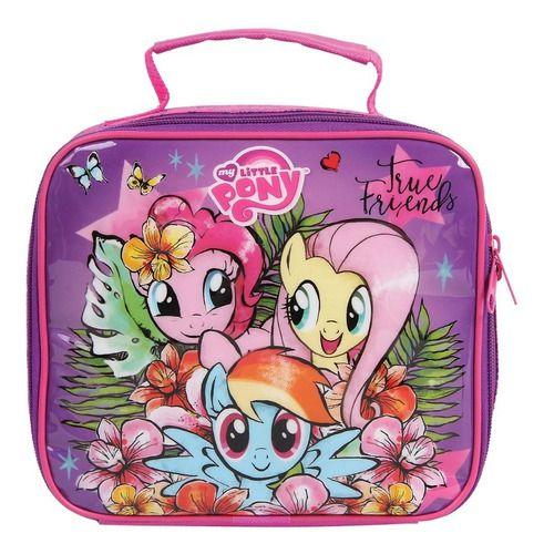 Lancheira Escolar Infantil Dmw My Little Pony Rosa 11145