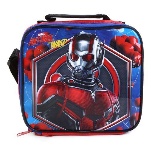 Lancheira Infantil Escolar Marvel Homem Formiga Dmw 11270