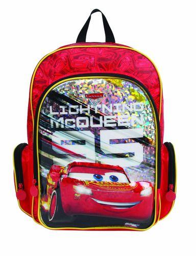 Mochila Infantil Carros Mcqueen Dermiwil Vermelha 3d 30072