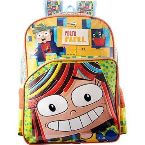 Mochila Escolar Infantil Xeryus Porto Papel Matilde 6972