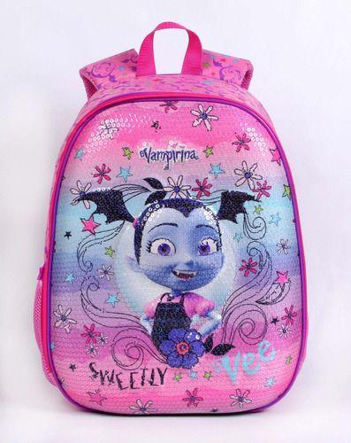 Mochila Escolar Infantil Dermiwil Grande Vampirina 52197