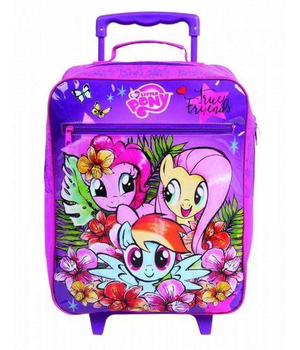 Mochila De Rodinha Infantil Escolar My Little Pony Dmw 11148
