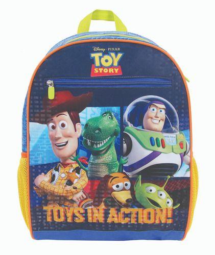 Mochila Infantil Escolar Grande Dermiwil Toy Story 30438
