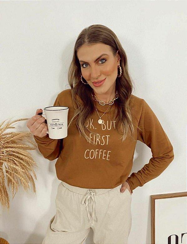 MOLETOM CARMEL COFFEE