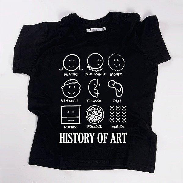 Camiseta QTVQTV History of Art
