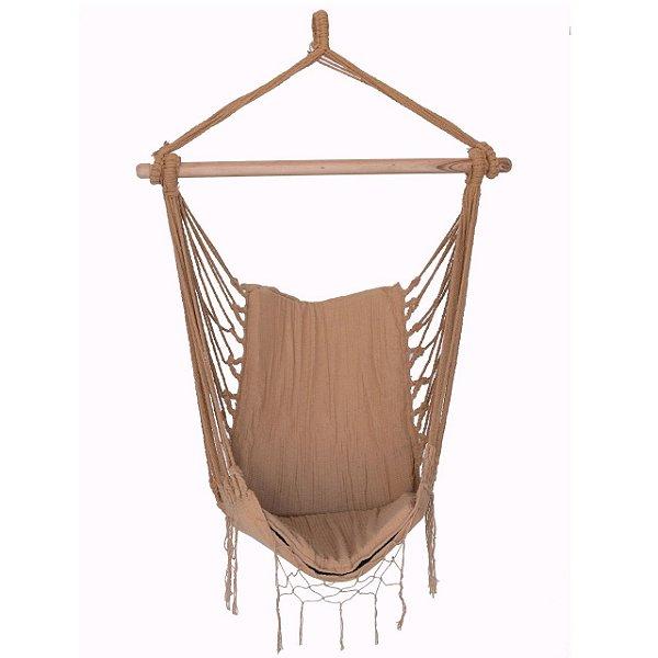 Rede Cadeira Suspensa Caramelo