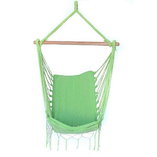 Rede Cadeira Suspensa Verde