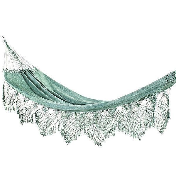 Rede De Dormir Casal Jeans Verde