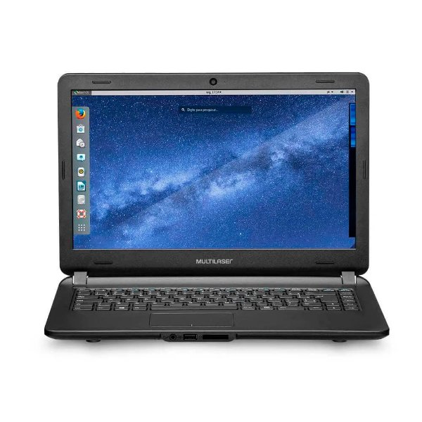 "Notebook Urban Intel Core i3 4GB 120GB SSD 14"" Linux Multilaser - PC402"