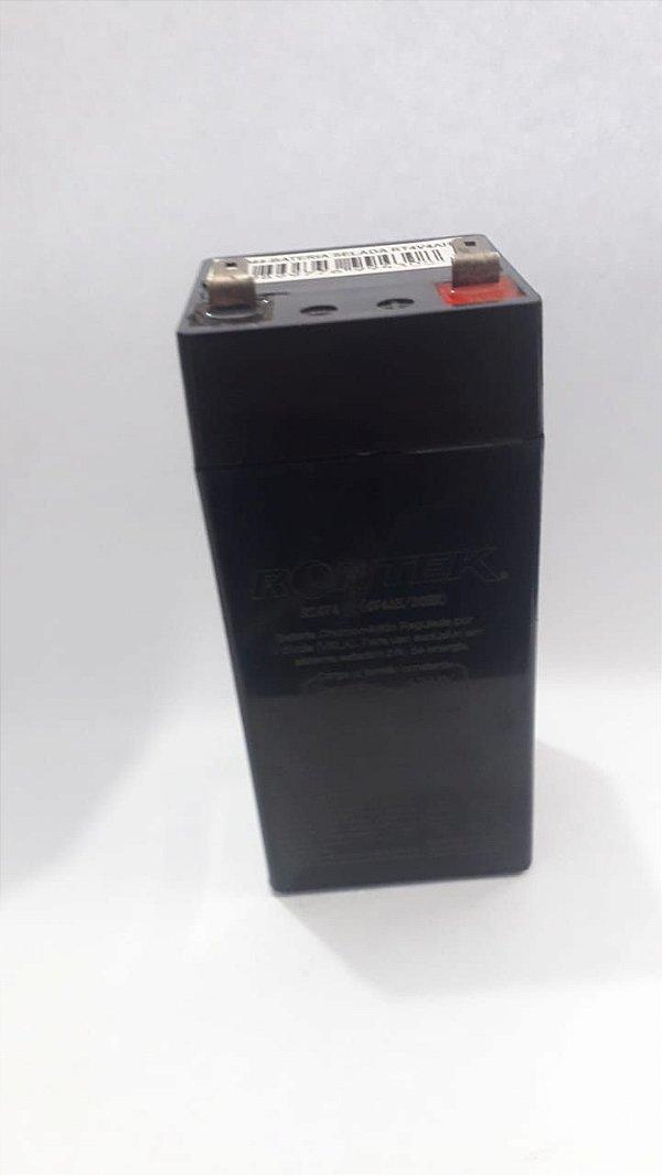 Bateria eletrica de chumbo 4v 4Ah Rontek