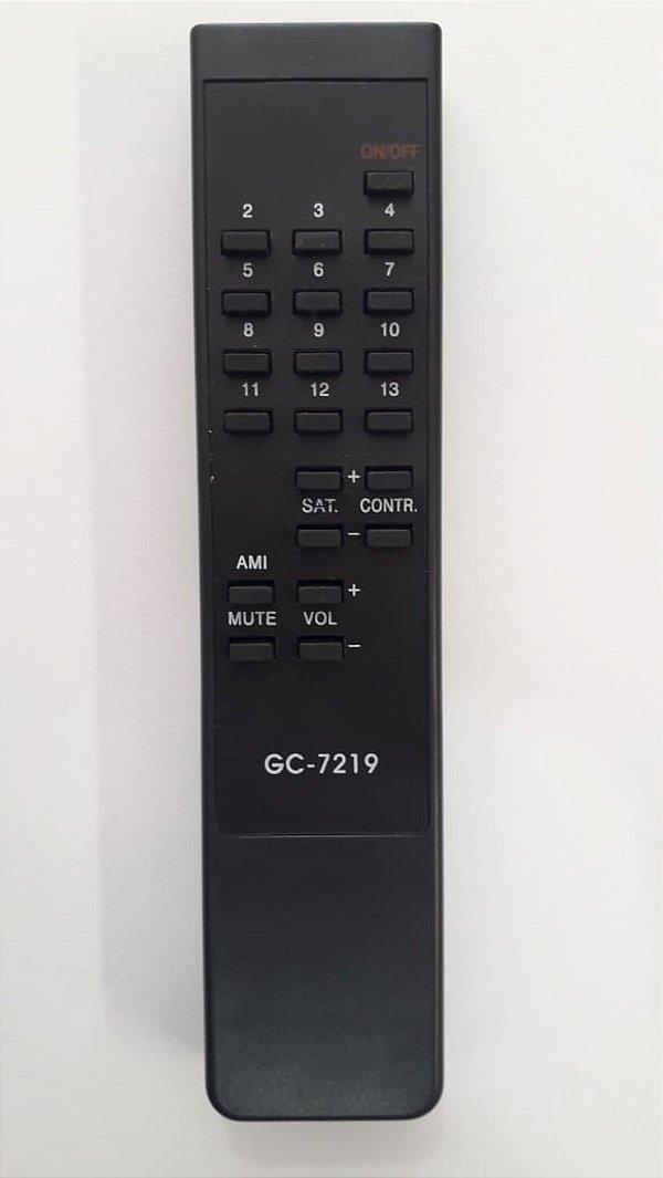 CONTROLE TV SHARP TOBLERONE GC-7219