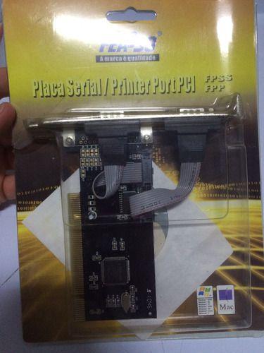 PLACA SERIAL /PRINTER PORT PCI - FEASSO