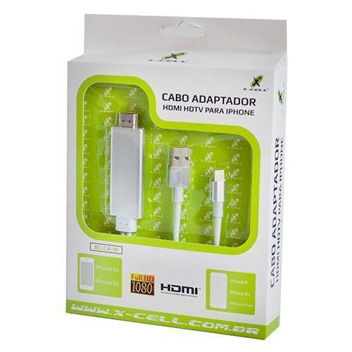 CABO ADAPTADOR HDMI PARA IPHONE - XCELL