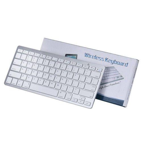 TECLADO WIRELESS KEYBOARD - BRANCO - BK3001