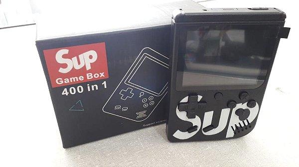 SUP GAME BOX 400 IN 1 PLUS - PRETO