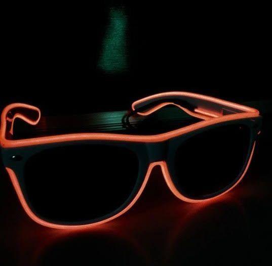 óculos de led para festas