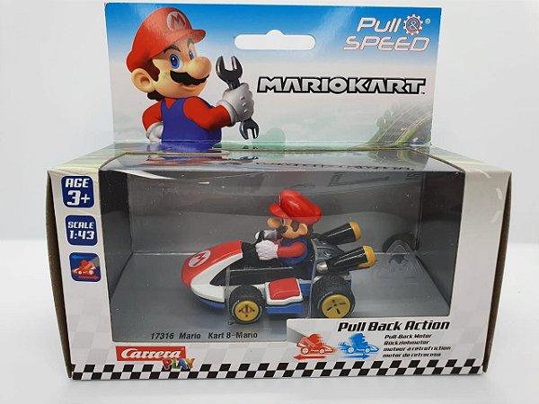 Miniatura Mario Kart - Mario - Escala 1/43 - Carrera
