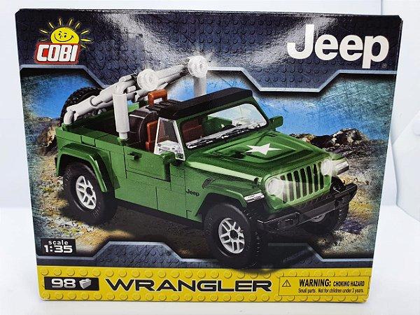 Cobi -  Jeep Wrangler - Escala 1/35 - 98 peças