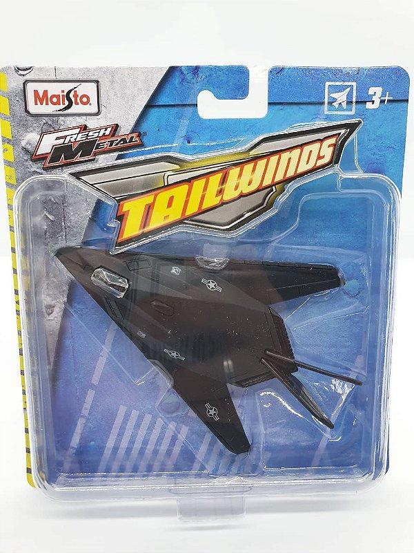 Miniatura F-117 Nighthawk - Maisto Tailwinds - Metal