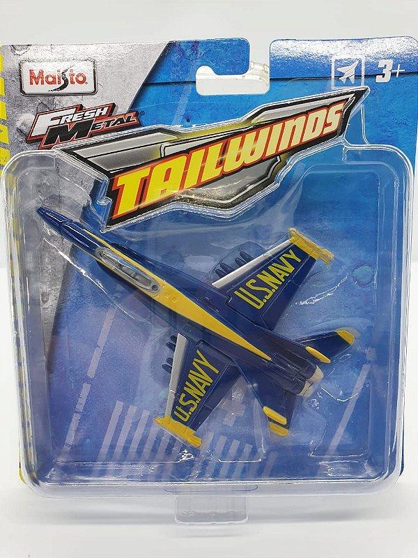 Miniatura - F/A-18 Hornet - Maisto Tailwinds - Metal