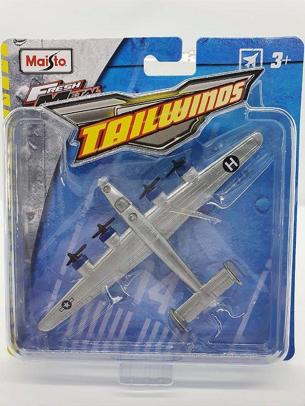Miniatura B-24 Liberator Aircraft - Maisto Tailwinds  - Metal