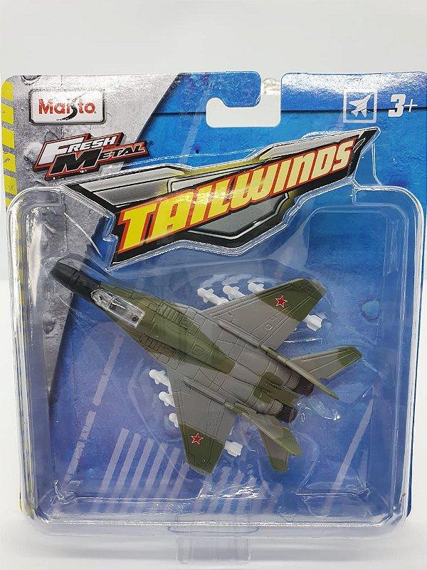Miniatura Mig-29 Fulcrum - Maisto Tailwinds  - Metal