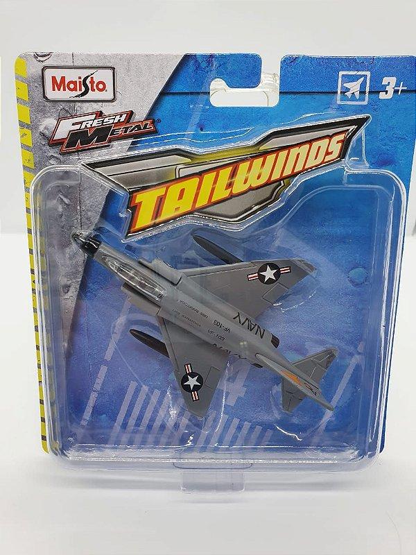 Miniatura F-4 Phantom II - Maisto Tailwinds  - Metal