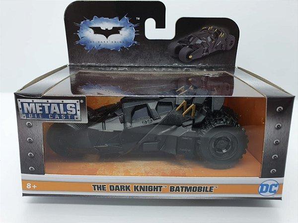 Miniatura Batmóvel Cavaleiro das Trevas -Tumbler - em Metal - escala 1/32 - JadaToys
