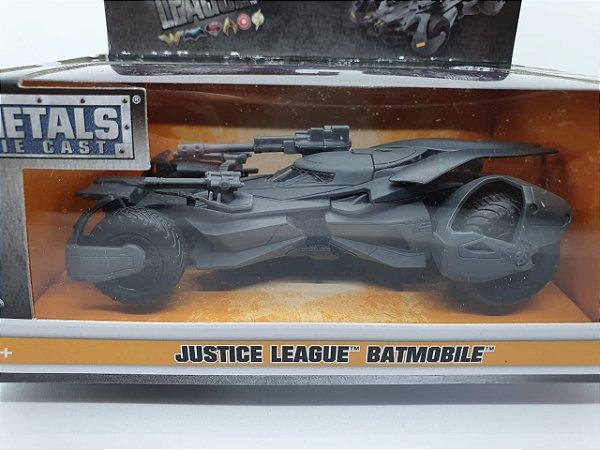 Miniatura Batmóvel  Liga da Justiça - em Metal - escala 1/32 - JadaToys